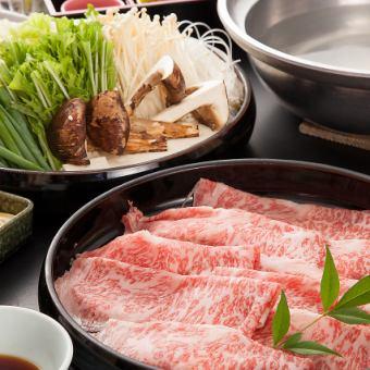 特產·和牛涮鍋6產品<竹子5500日元>