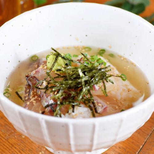 茶漬け(鮭・梅・海苔)
