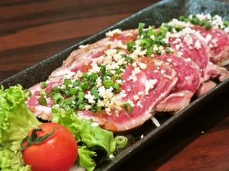 Raw tap of raw lamb - Japanese grated oyster sauce ~