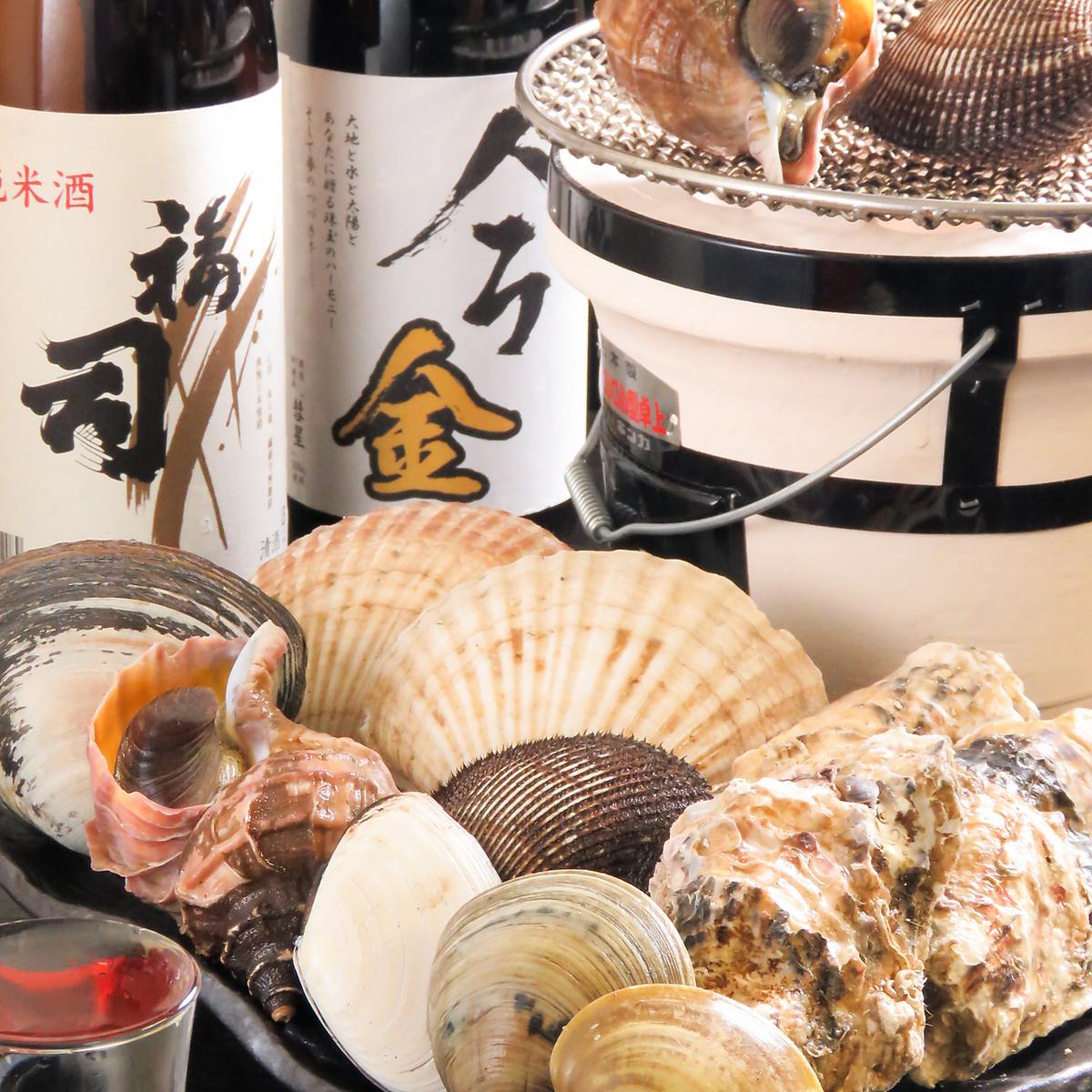 幸运的是,享用Taichi当天提供的新鲜海鲜!