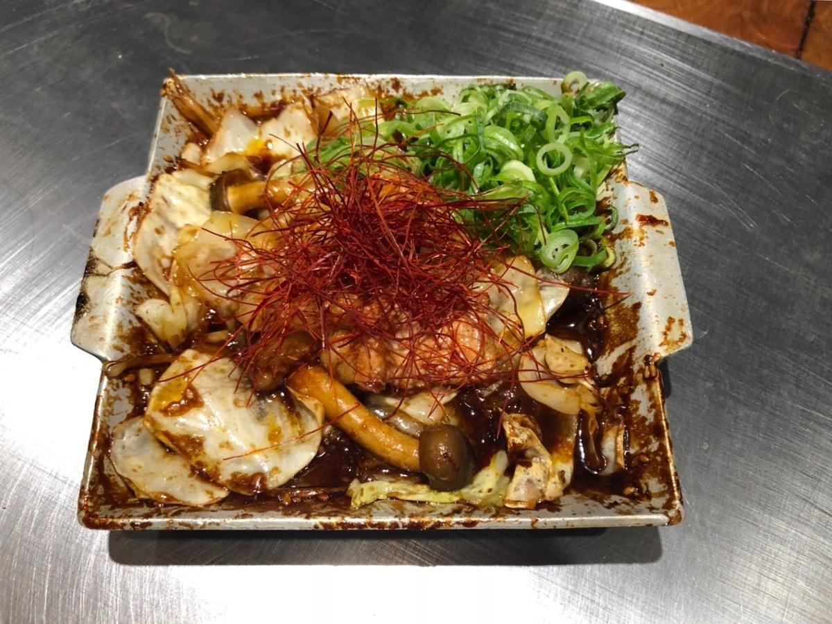 用激素炒味噌醬