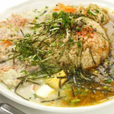 两个Aigake咖喱(香料咖喱+绿咖喱)