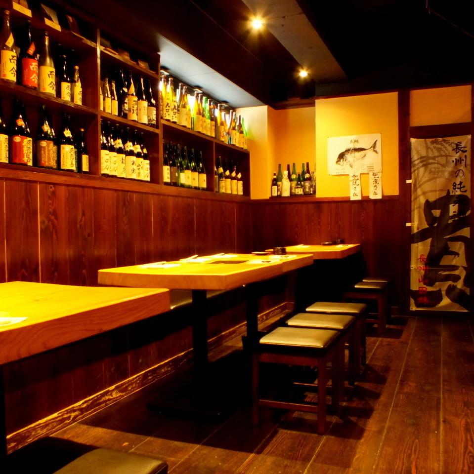 我們準備了很多清酒以滿足客戶的需求。