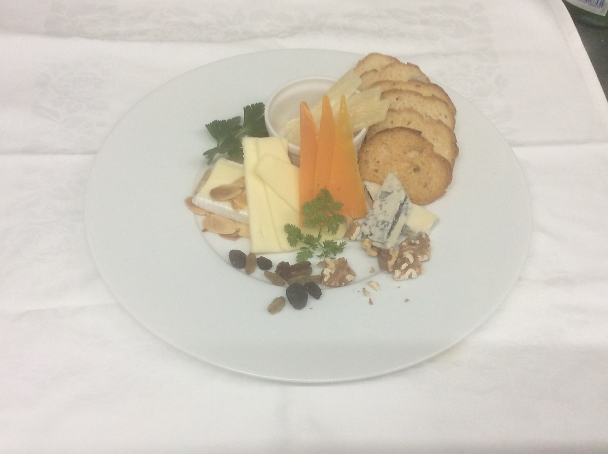 Assortment of recommended cheese