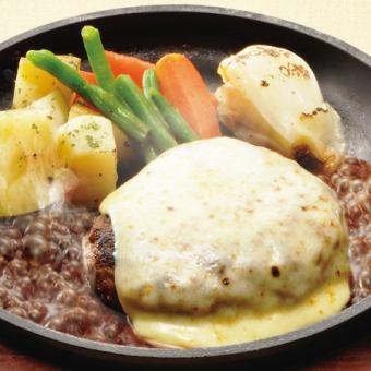 チーズ和牛ハンバーグ 200g