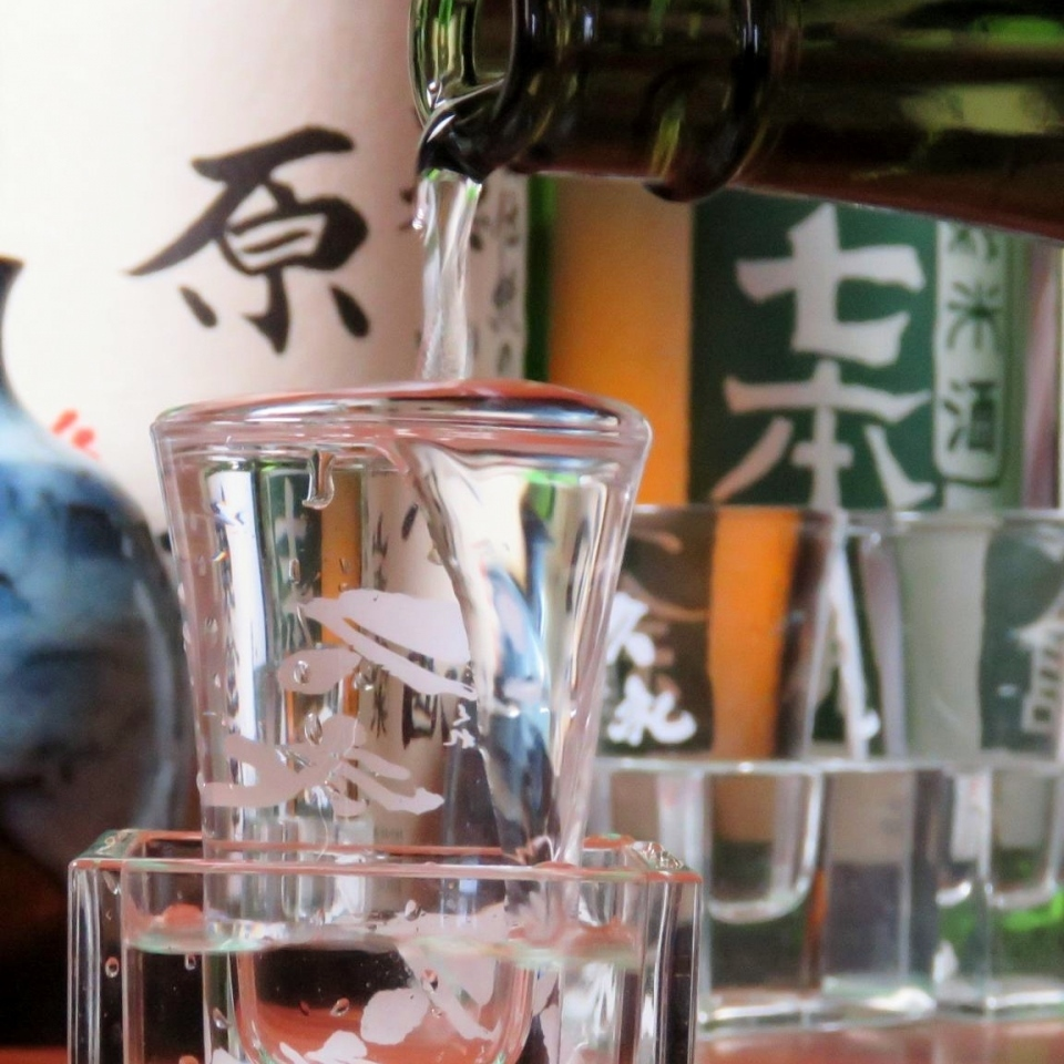 Japanese sake brewed by Toshiki