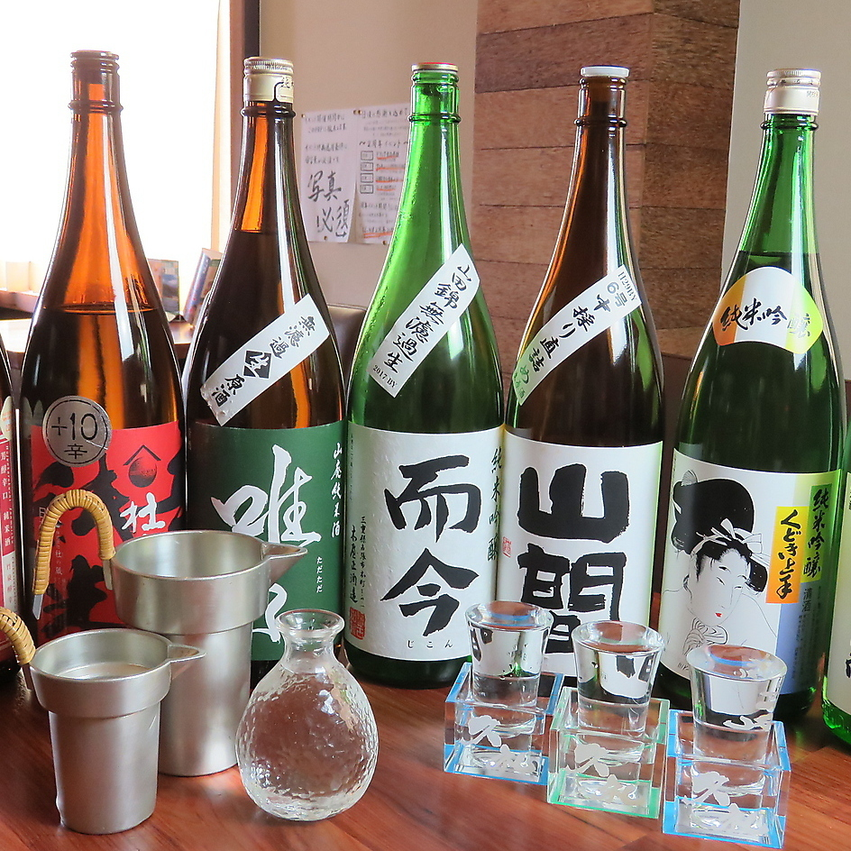 Sake selected by taste sake