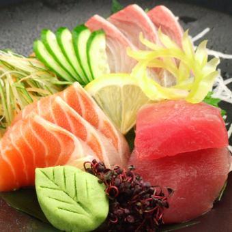什锦海鲜3个品种