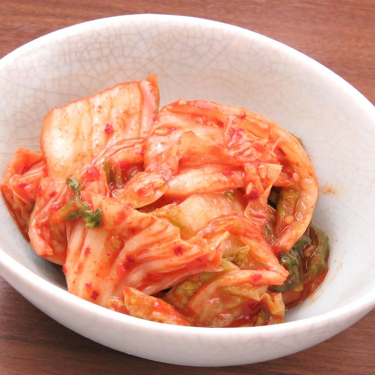 中國的白菜泡菜