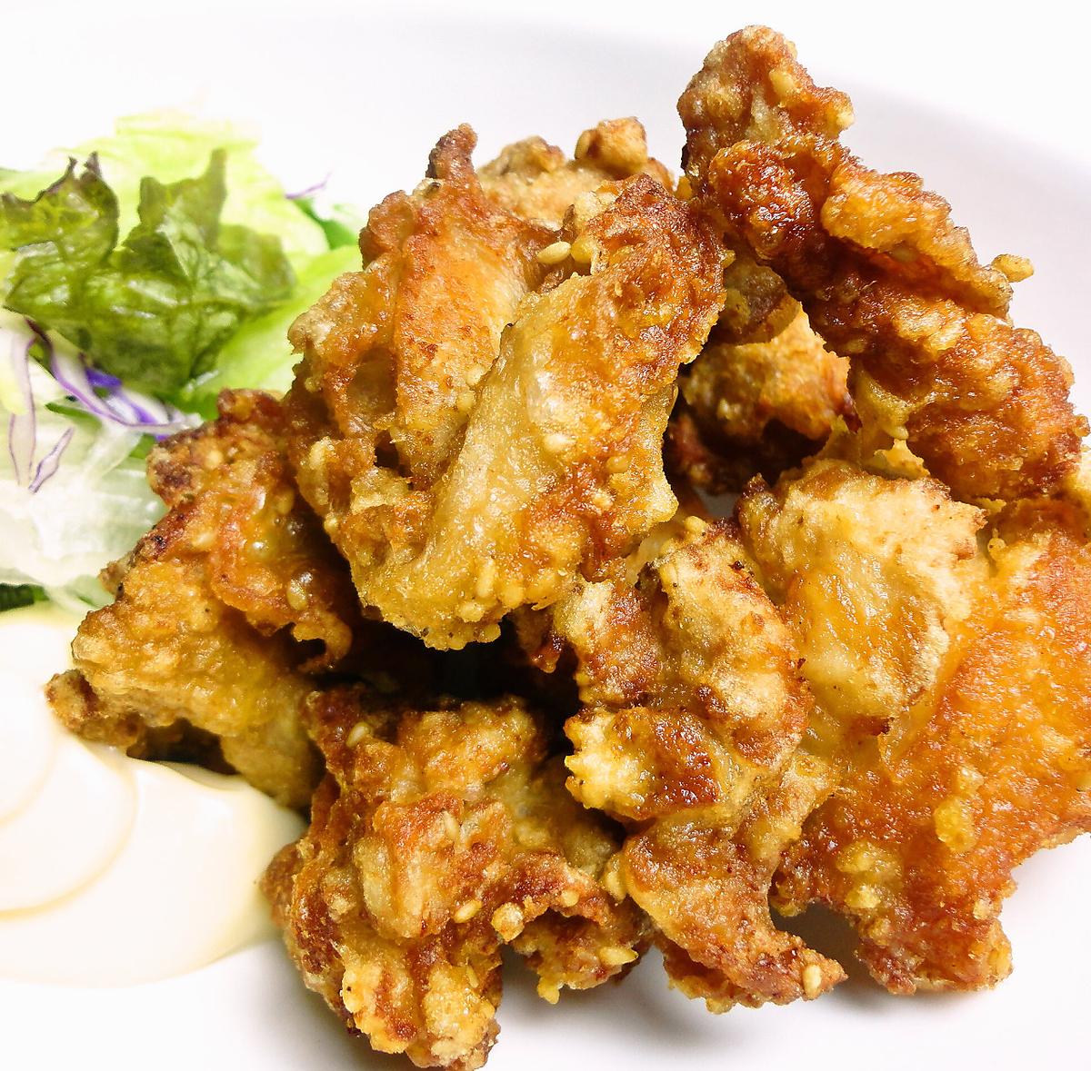 닭 허벅지 살 튀김