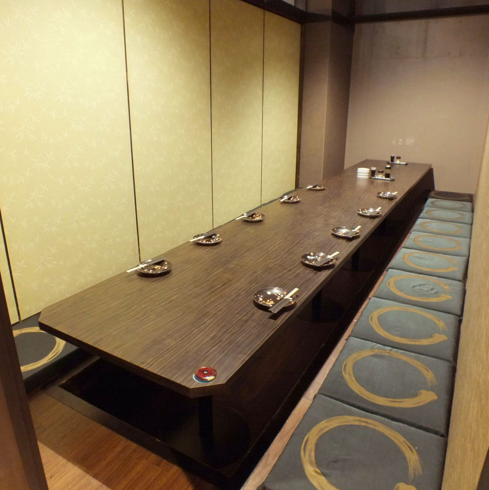 10 people or more in a private room 【Up to 72 people】 ★