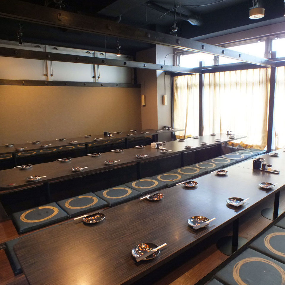 More than 54 people private room 【Up to 72 people】 ★