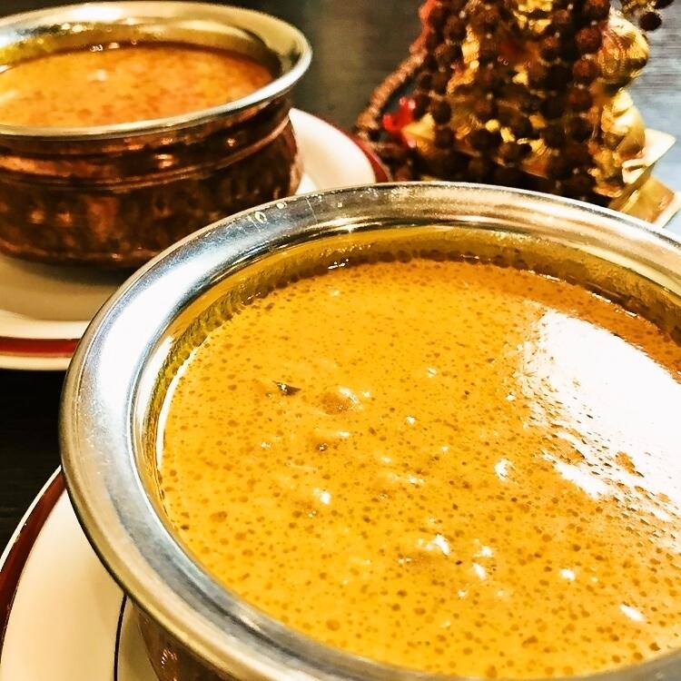 Single item curry set