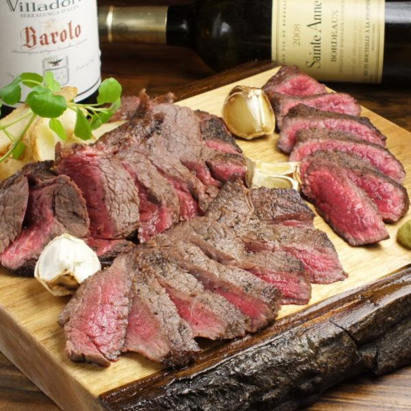 【New Course in 2018 × Various Banquets】 Participating Courses that Enjoy MARCO Boasting Meat Dishes / 9 Items in All / 2 Hours Drinking From 4500 yen ~
