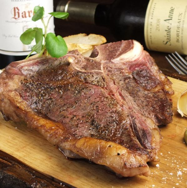 [To carnivorous system ◎] US assets and T-bone steak · 400g