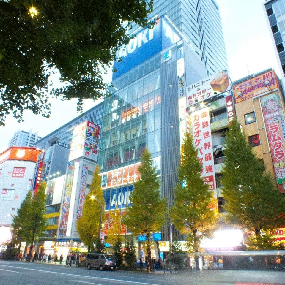 JR [Akihabara station] [Electric street entrance] 1 minute walk / exit from the ticket gate to the right of Vito de France ★ It is the 5th floor of the building that contains men's clothes AOKI!