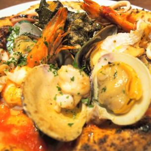 Of exciting seafood Pescatore