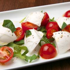 Water buffalo mozzarella Caprese