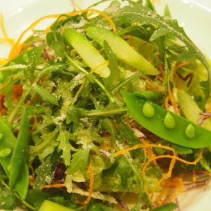 Seasonal vegetable salad