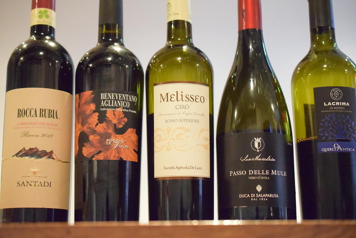 季节性意大利葡萄酒