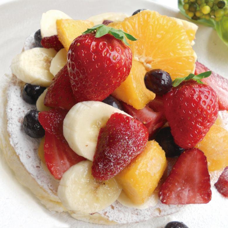 과일 팬케이크