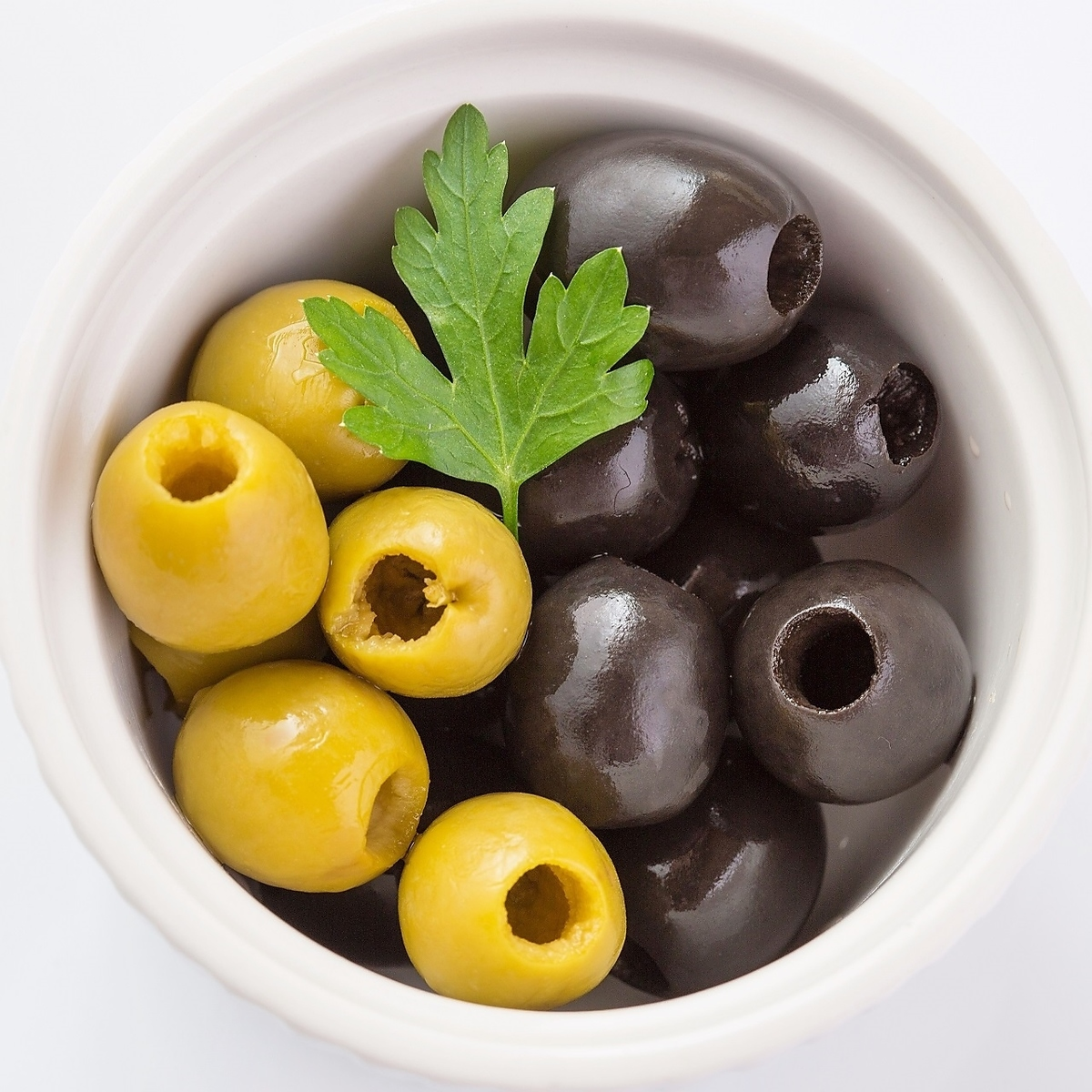 Assorted olives
