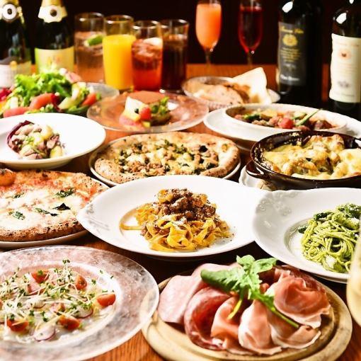 【歓送迎会に!】シェフ厳選の肉料理!パーティプラン♪フリードリンク付き♪【5500円】