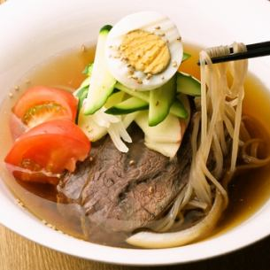 冷麺、旨辛ビビン麺
