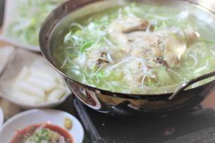 丸鶏鍋 「タッカンマリ」