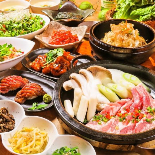 Classic ★ 【Samgyeopsal course】 All 11 items 2h Drinking and drinking 4500 yen (tax excluded) ◆ If over 4 people «4050 yen»