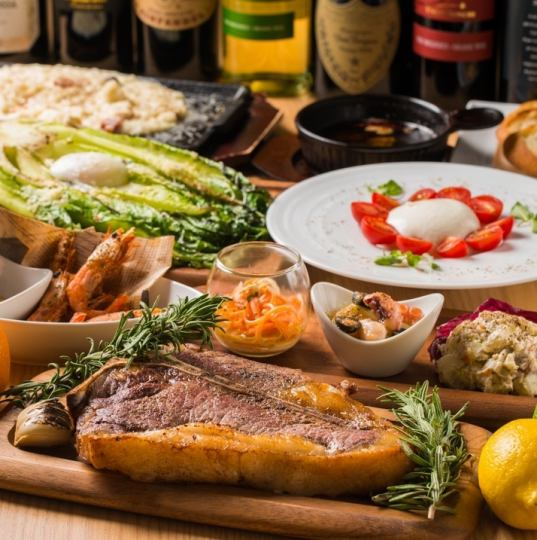 """【2 h with unlimited drinks】 """"New Year's party · Farewell reception party"""" superb! Boundary sirloin course 4,000 yen"""