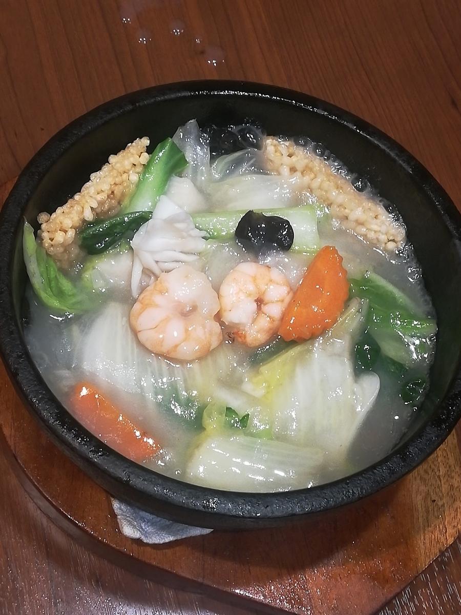 海鮮米餅/蝦和大白菜蝦