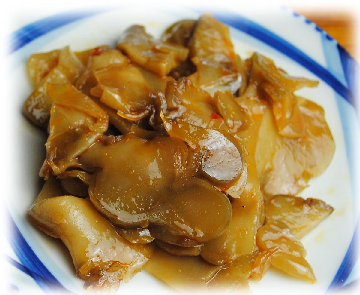 ザーサイ/枝豆
