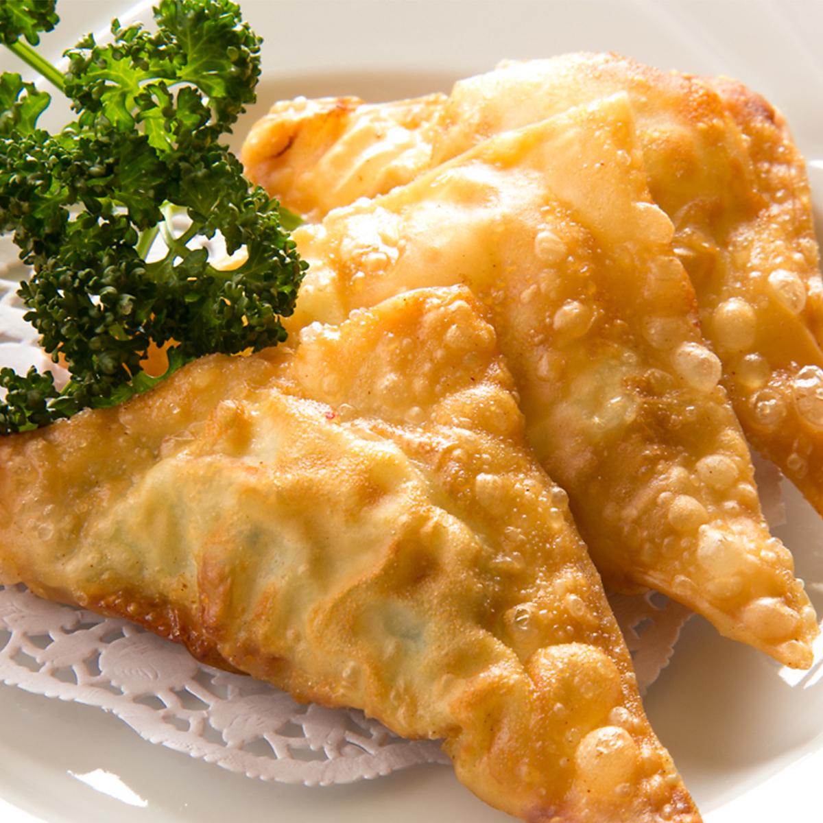 蝦魚糜·炸雞餃子(4件)