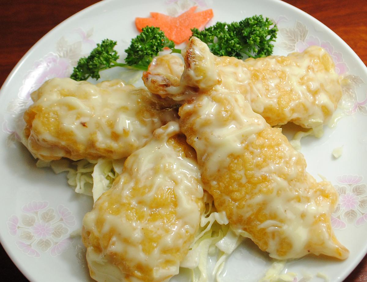 大蝦辣椒醬/大蝦蛋黃醬