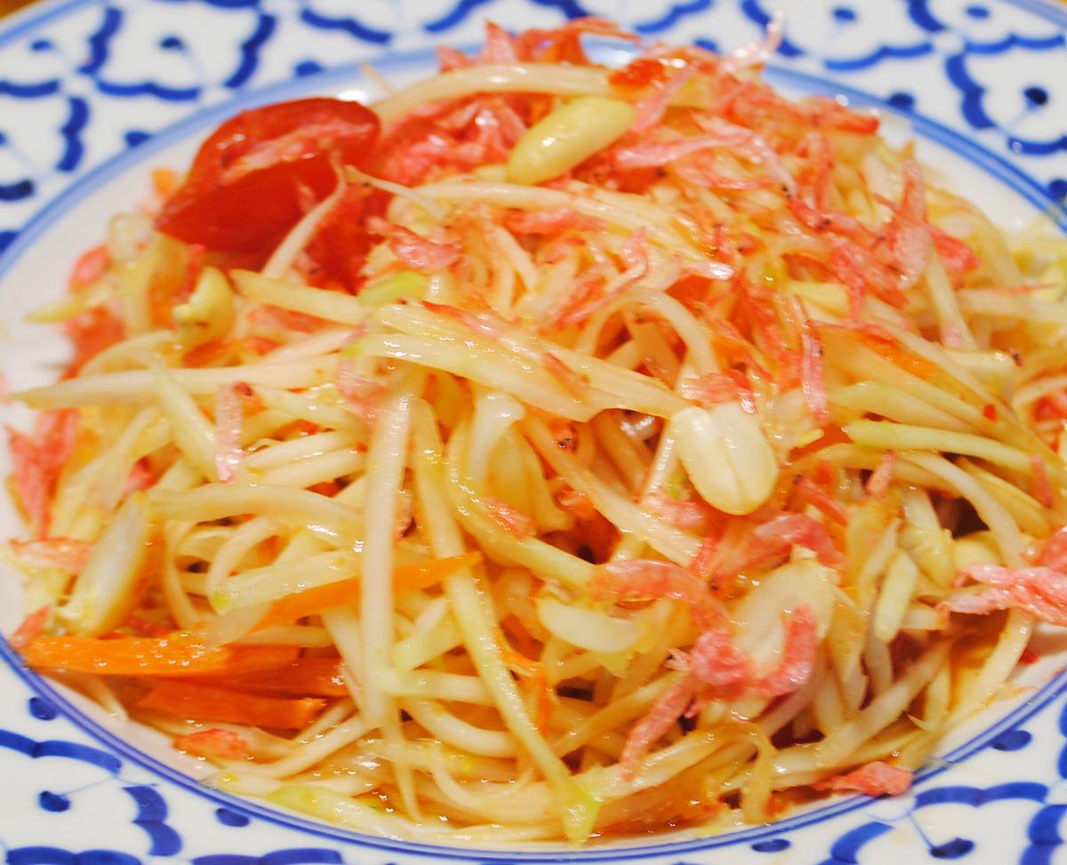 ソムタム(タイ風青パパイヤサラダ)