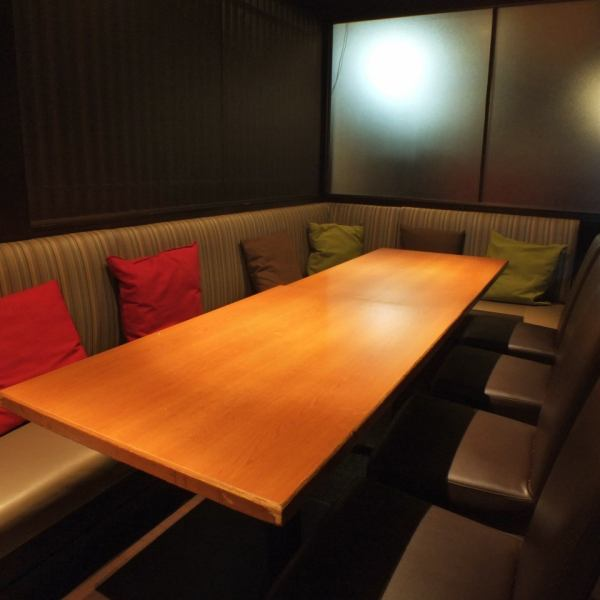 【Relaxing space】 Recommended for banquets and girls' societies in a calm shop! Because you are a seat in a private room, you can enjoy your meal relaxedly without worrying around ♪