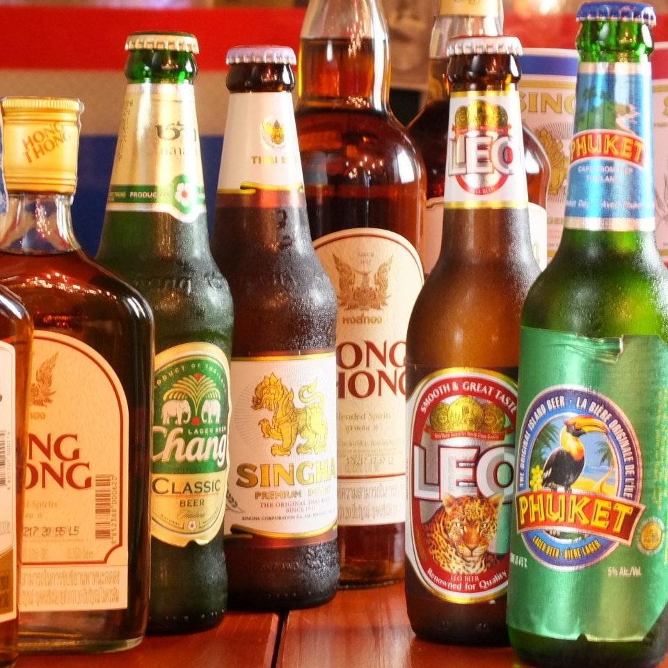 태국 맥주 각종
