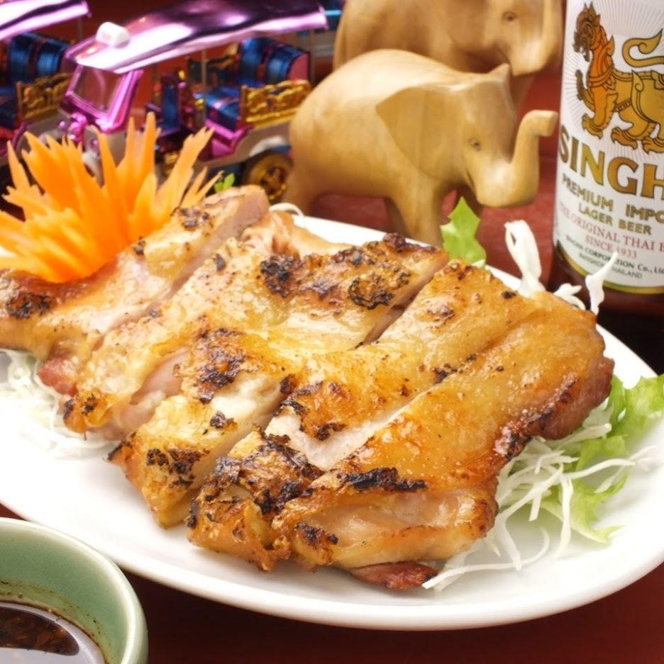 鶏もも1本焼き(ガイ ヤーン)