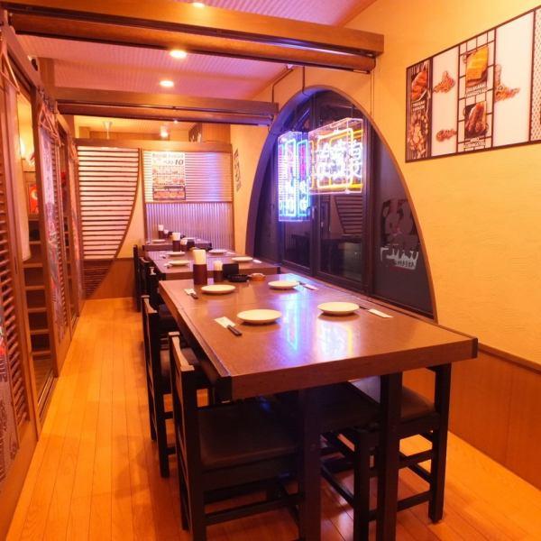 包房宴会可表最多可容纳24人。公司宴会,请使用宴会等告别Mukaekai。※7人以上的客户已经得到了该课程的保留的合作。所以也只涉及过程的菜肴,请与我们联系。
