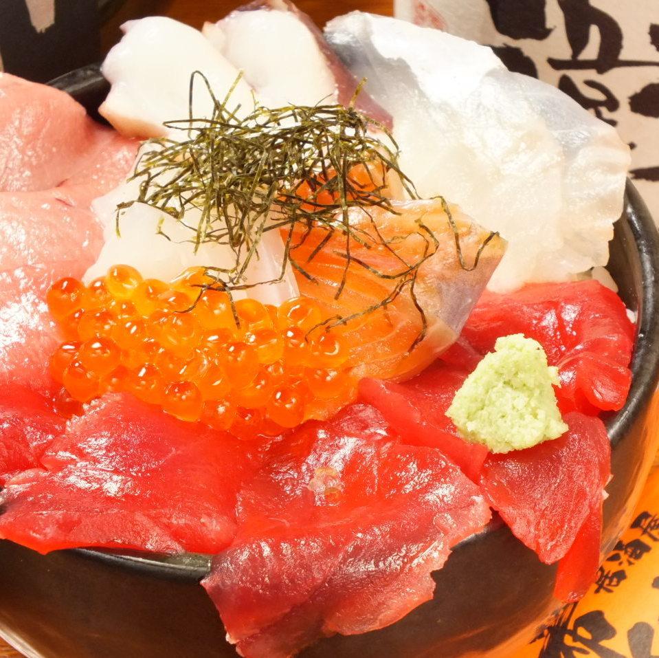 ハイド丼(自慢の海鮮丼♪)