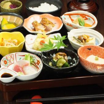 在菜单中享用5种开胃菜