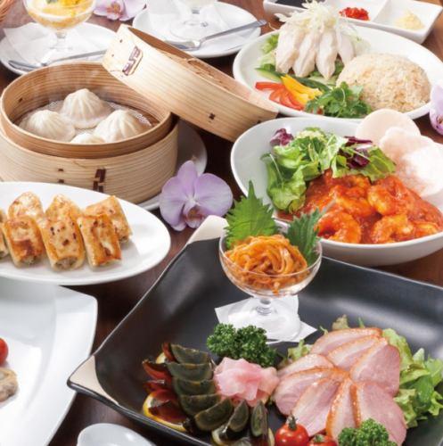 【2名~】ジンホアを満喫♪シンガポールコース料理のみ5000円【料理11品・デザート付】