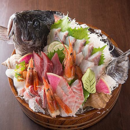 【Uishi Fish Coast course】 2h with all you can drink 3,980 yen + 500 yen for drinks all-you-can-eat extension banquet / Farewell party