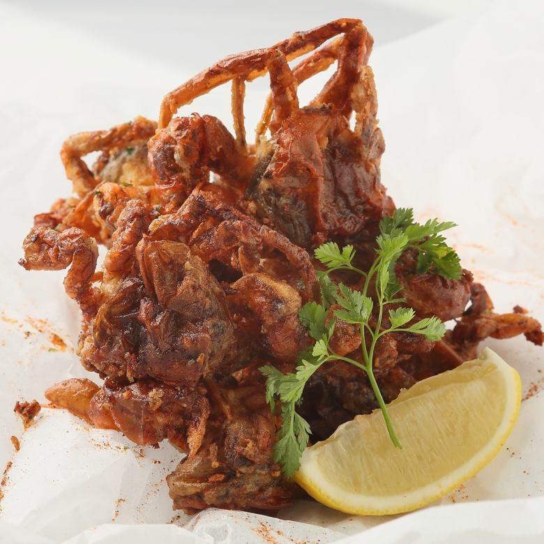 大蒜软壳蟹