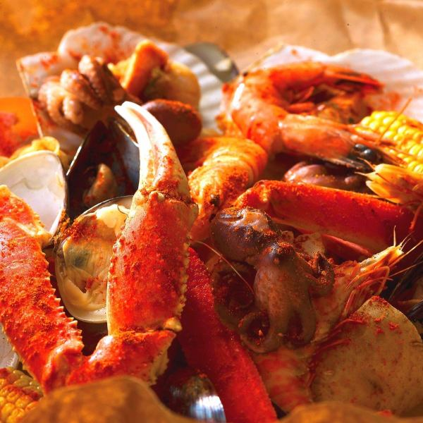 【Once you eat, you will be addicted to deliciousness !!】 Wildly with hand-pick ★ Seafood COMBO ☆ choose from 3 sources