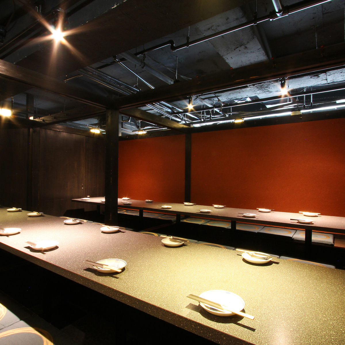 Private room with a calm atmosphere ★