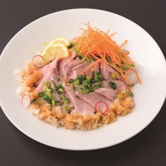 Roast pork ~ Grated Ponzu-Noodle ~