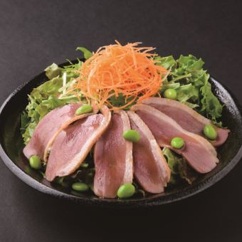Duck and Mizuna salad ~ Tailoring the mountain auction ~