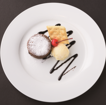 Fondant Chocolat ~ Supplemented with ice ~